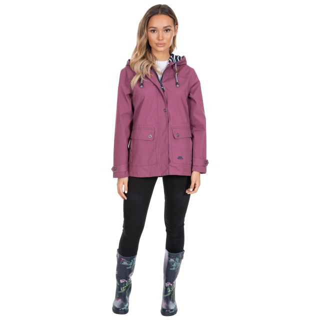 Seawater Women's Waterproof Jacket in Purple