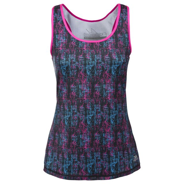 Selma Women's Sleeveless Active T-Shirt in Pink