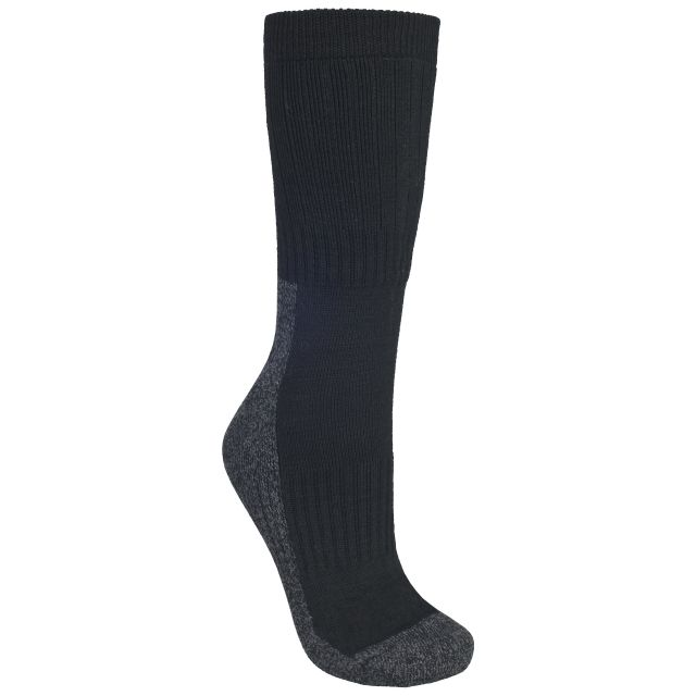 Shak Men's Walking Socks in Black