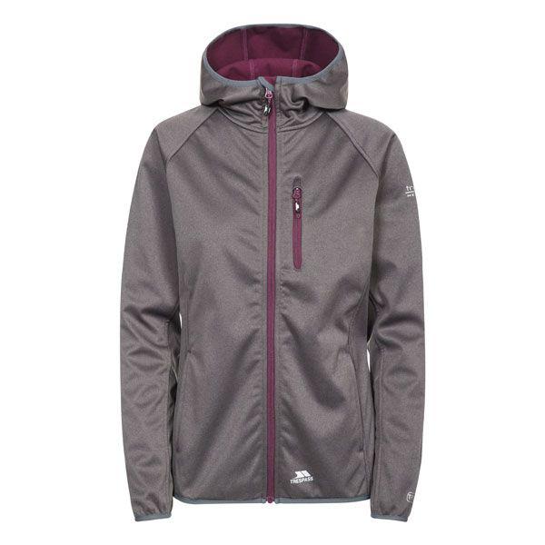 Shelly Women's Softshell Jacket in Grey