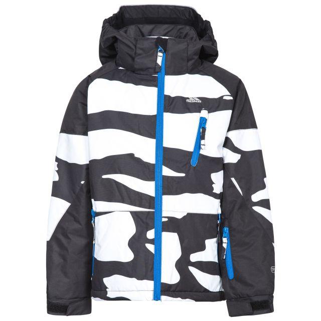 Shredded Boys' Ski Jacket in Black