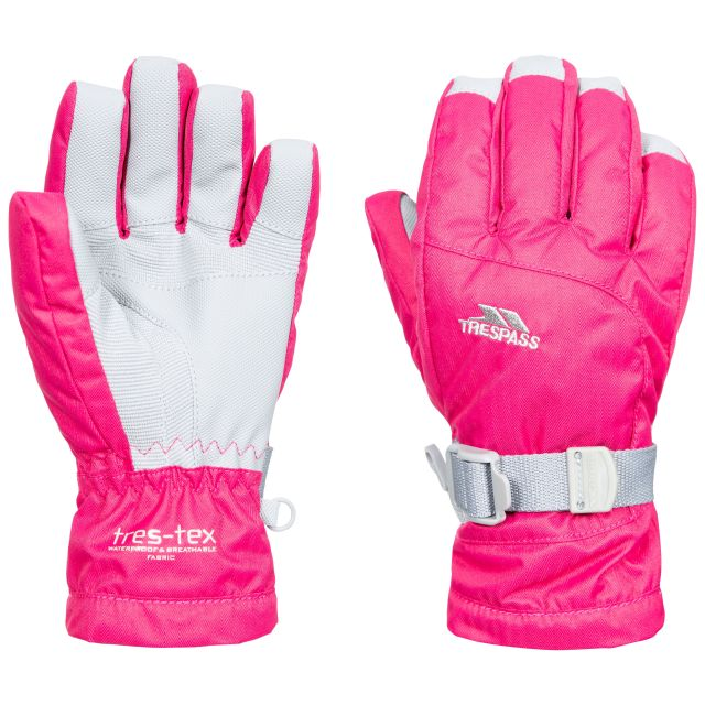 Simms Kids' Ski Gloves in Pink
