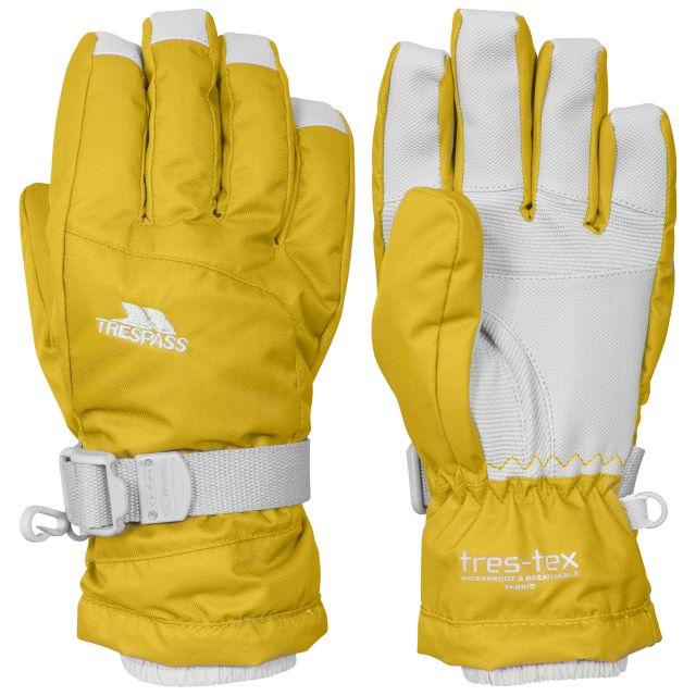 Simms Kids' Ski Gloves in Yellow