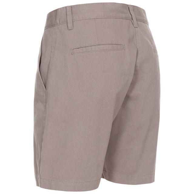 Sinitta Women's Cotton Shorts in Grey