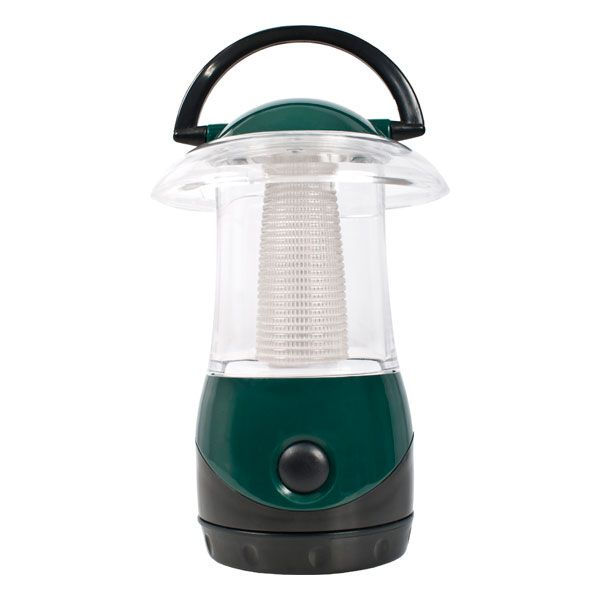 4 LED Portable Lantern in Green