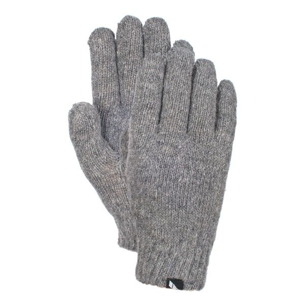 Manicure Women's Knitted Gloves in Light Grey