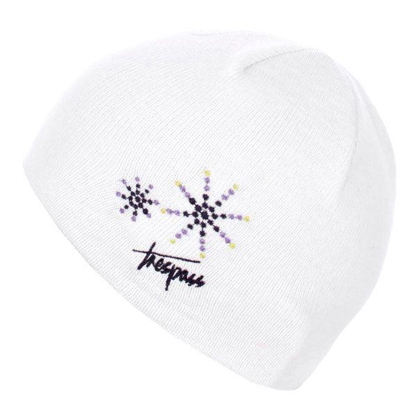 Sparkle Kids' Beanie Hat in White