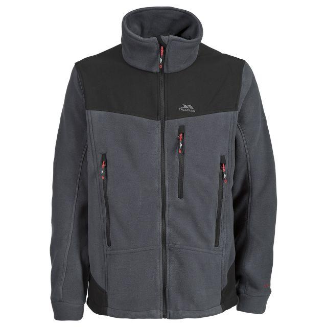 Smoulder Men's Fleece Jacket in Grey
