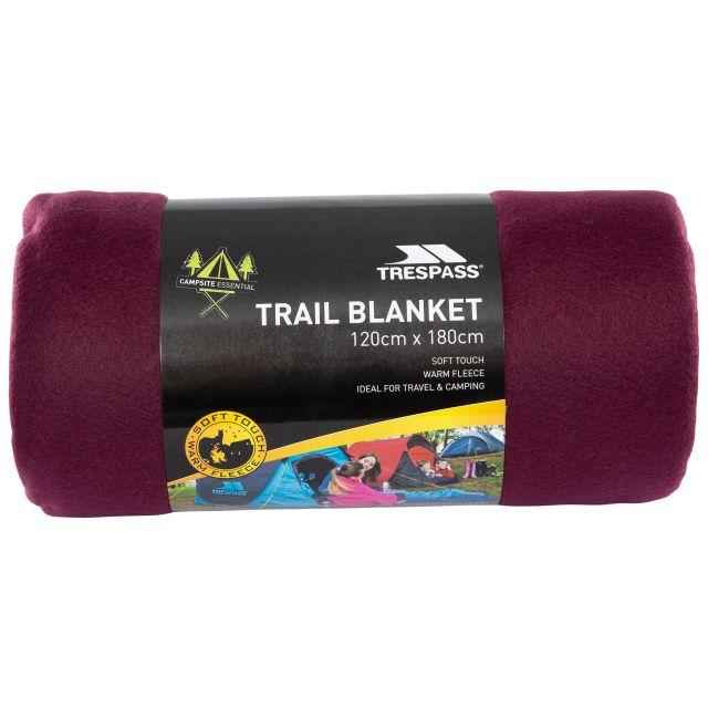 Fleece Blanket 120 x 180cm in Purple