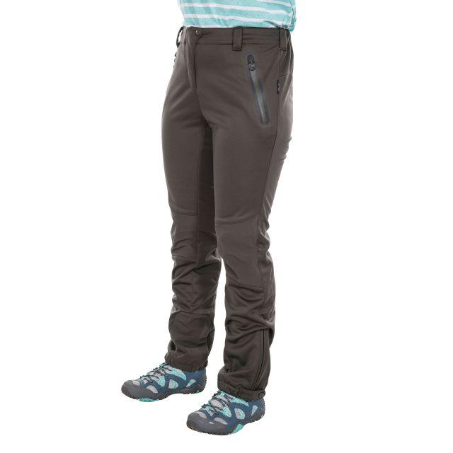 Sola Women's DLX Softshell Walking Trousers in Khaki