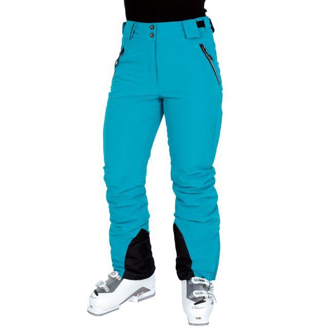 Solitude II Women's Waterproof Ski Trousers in Blue
