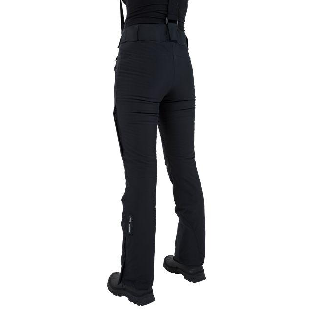 Solitude II Women's Waterproof Ski Trousers in Black