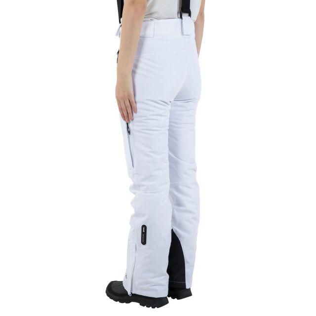 Solitude II Women's Waterproof Ski Trousers in White