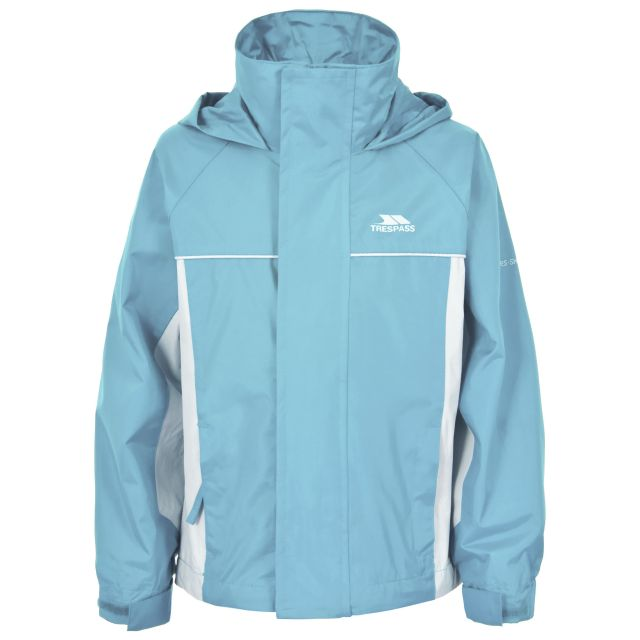 Sooki Girls' Waterproof Jacket in Light Blue