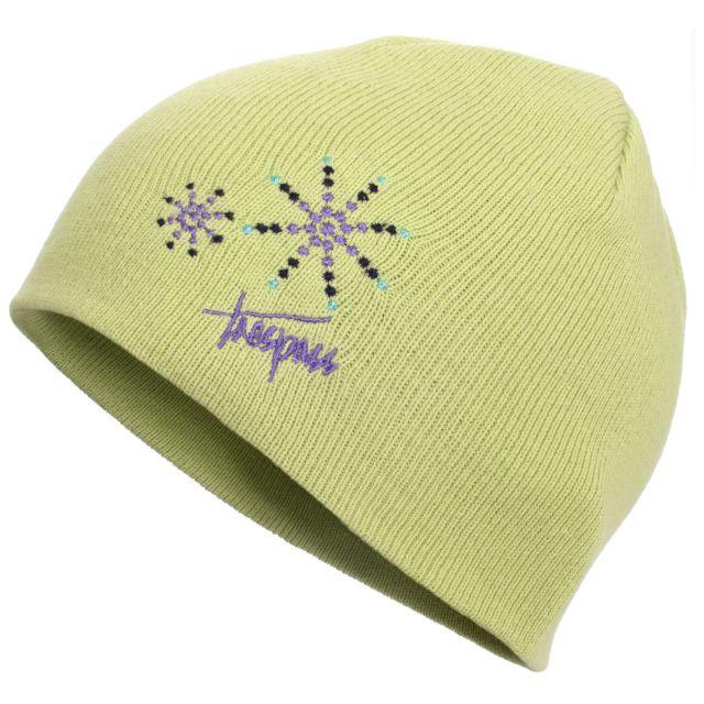 Sparkle Kids' Beanie Hat in Light Green