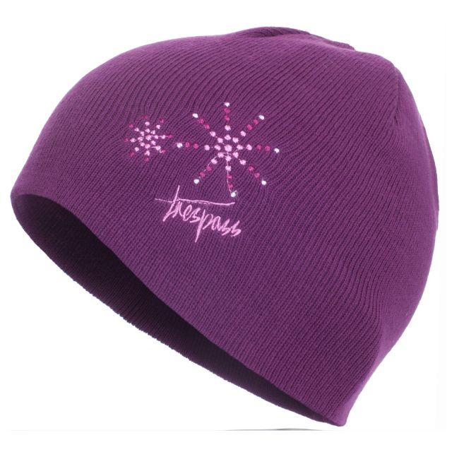 Sparkle Kids' Beanie Hat in Purple