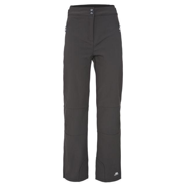 Squidge II Women's Water Resistant Softshell Trousers in Black