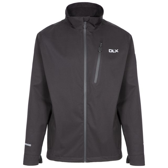 Stableford Men's DLX Waterproof Jacket in Black