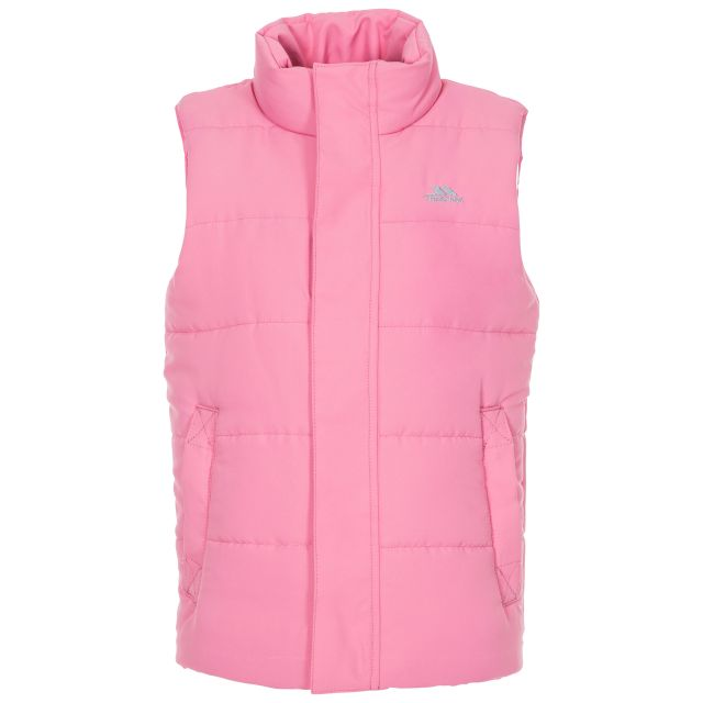 Startling Kids' Padded Gilet in Pink