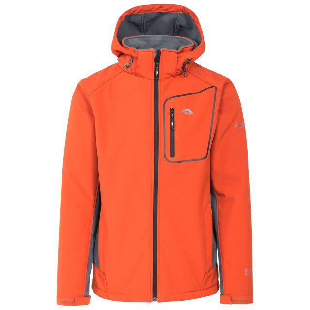 Strathy II Men's Softshell Jacket  in Orange