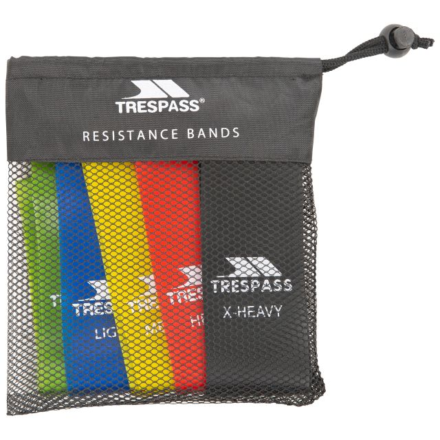 Trespass Resistance Bands Stretch - MUL, Front view
