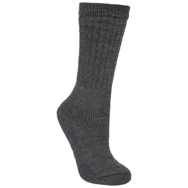 Stroller Men's Merino Wool Hiking Socks in Black