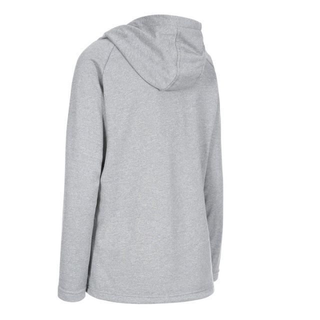 Stumble Women's Hooded Jumper in Light Grey
