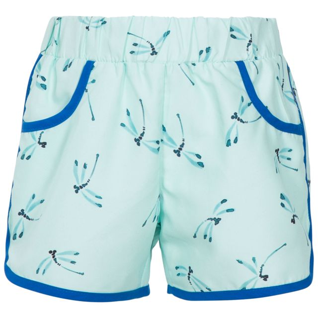 Stunned Kids' Board Shorts in Light Green