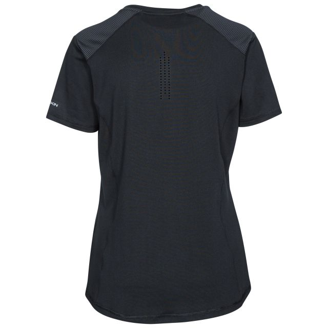 Suze Women's DLX Quick Dry Active T-Shirt in Black