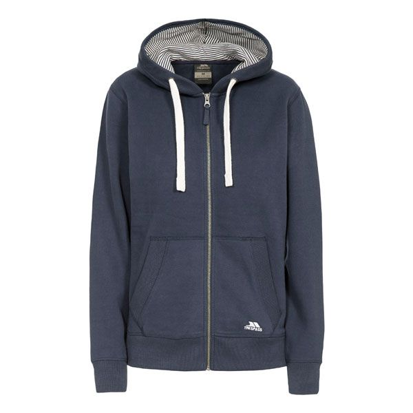 Swag Women's Full Zip Hoodie in Navy
