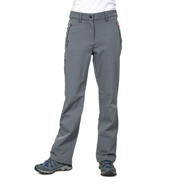 Swerve Women's DLX Quick Dry Walking Trousers in Grey