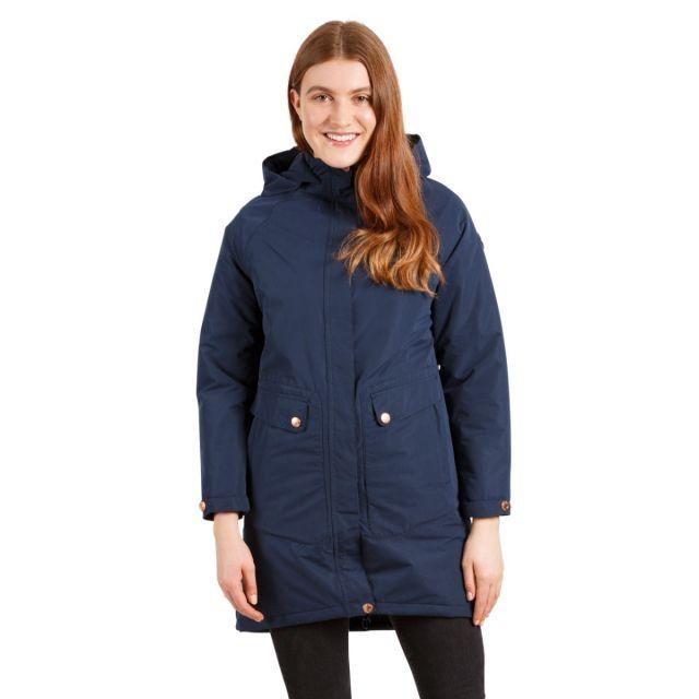 Tamara Women's Padded Waterproof Jacket in Navy