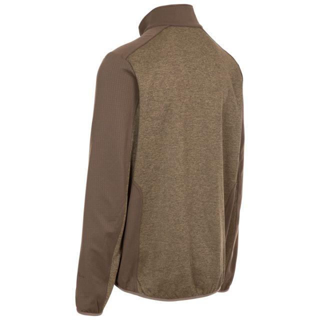 Trespass Men's Zip Fleece Tansorton Cashew Marl