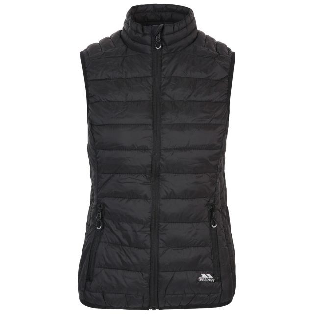 Teeley Women's Packaway Padded Gilet - BLK