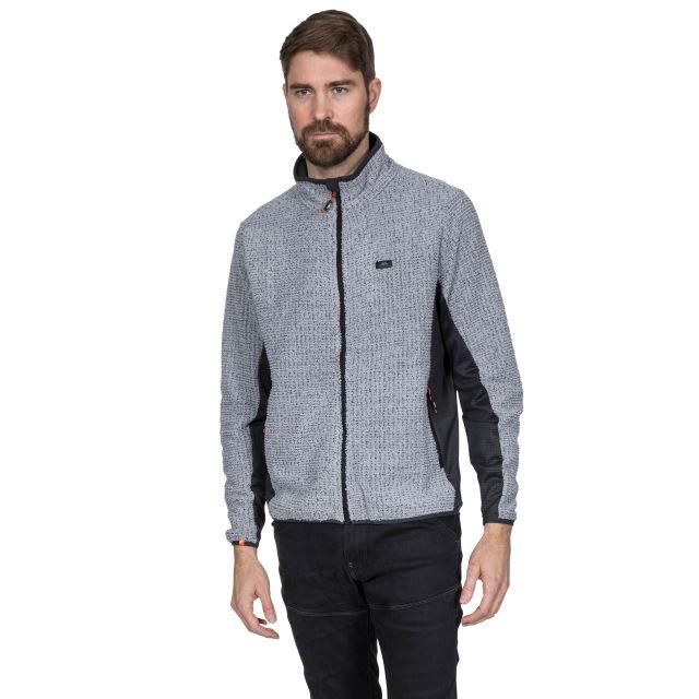 Templetonpeck Men's Fleece Jacket in Grey