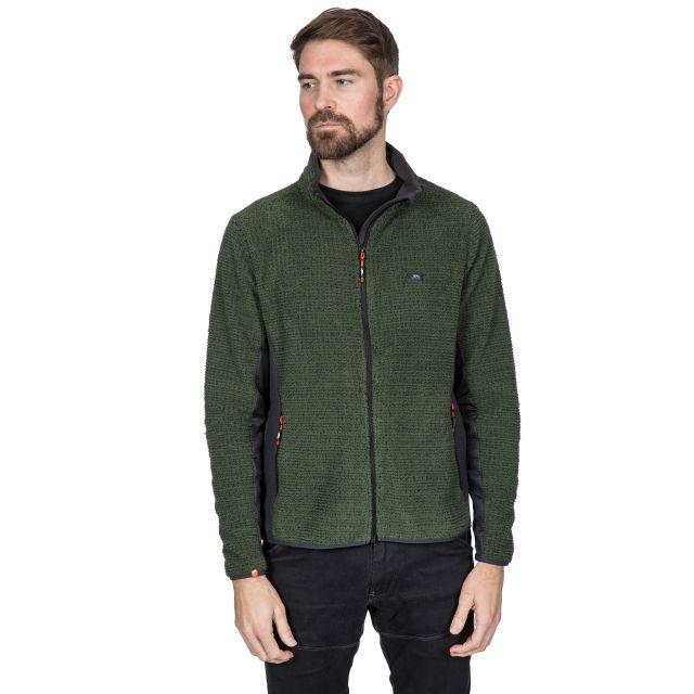 Templetonpeck Men's Fleece Jacket in Khaki