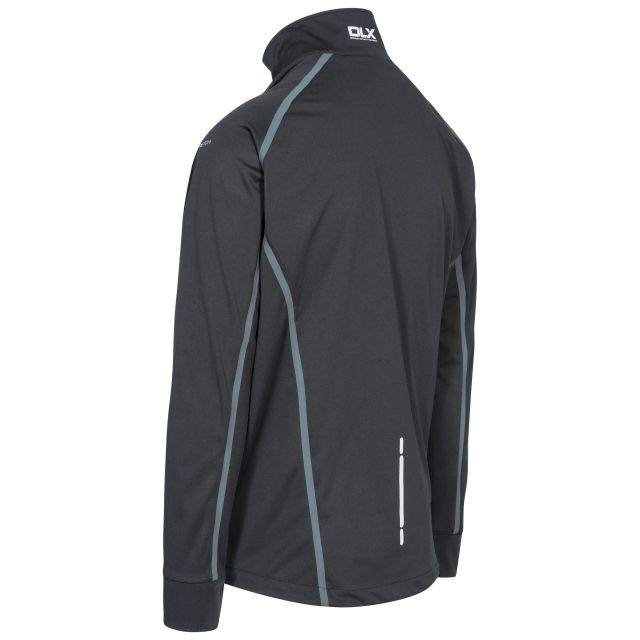 Thomson Men's DLX Breathable Softshell Jacket in Black