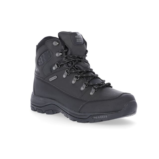 Thorburn Men's Walking Boots in Black