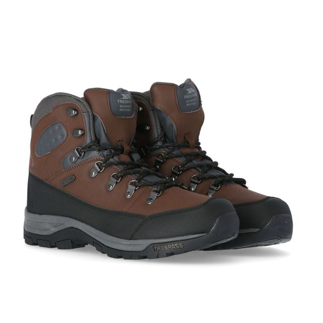 Thorburn Men's Walking Boots in Brown