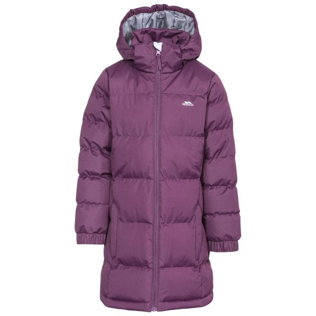 Tiffy Girls' Padded Casual Jacket in Purple