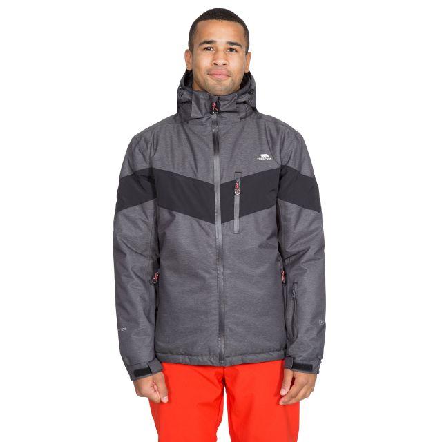 Tinlaw Men's Waterproof Ski Jacket in Grey
