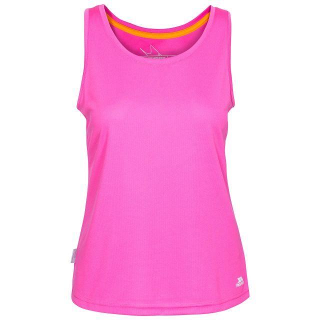 Tissy Women's Sleeveless Active T-Shirt in Pink