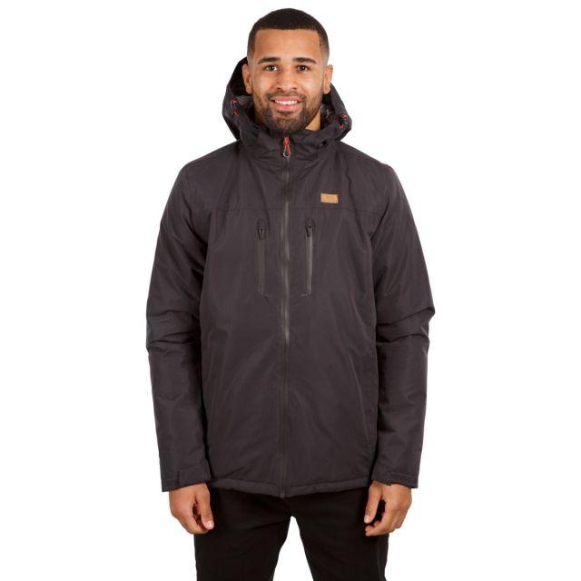 Toffit Men's Hooded Waterproof Jacket in Grey