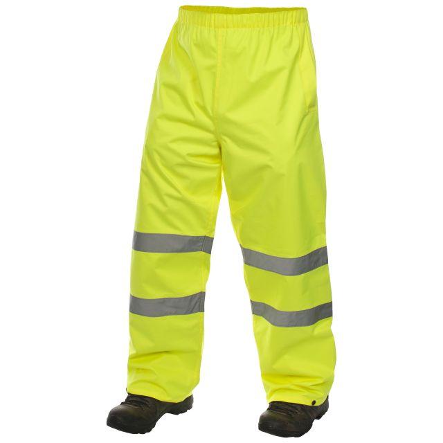 Tomo Unisex Hi Vis Waterproof Trousers in Yellow