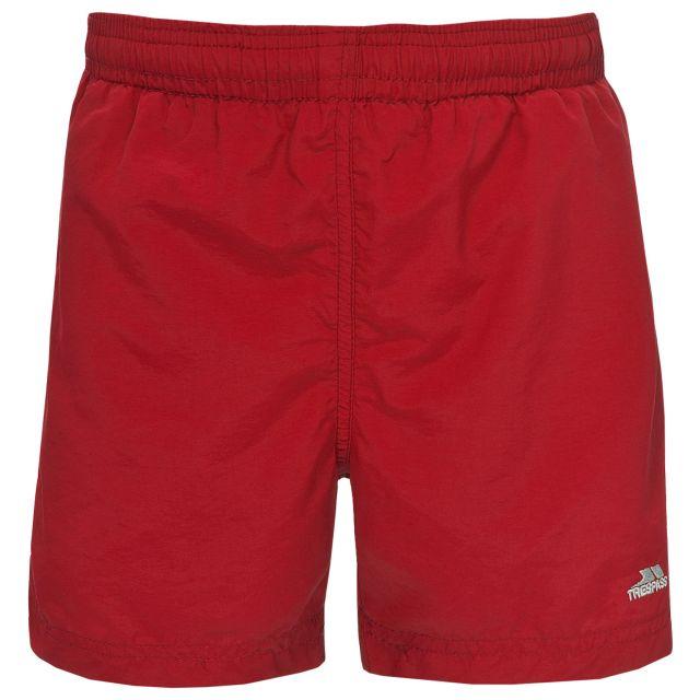 Trey Kids' Swim Shorts in Red