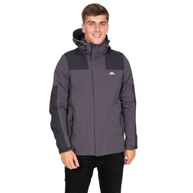 Trolamul Men's Waterproof Jacket in Grey