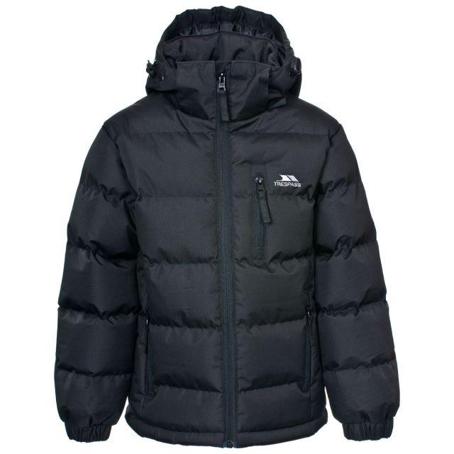 Tuff Boys' Padded Casual Jacket in Black