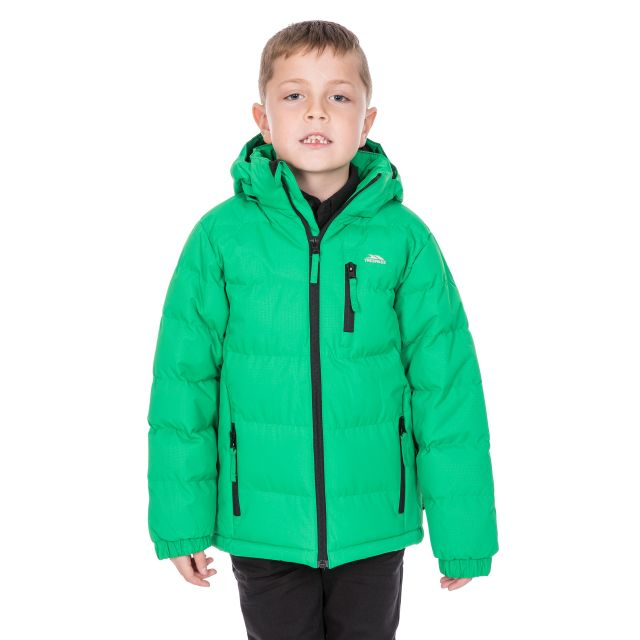 Tuff Boys' Padded Casual Jacket in Green