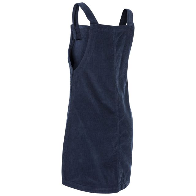 Twirl Women's Pinafore Dress in Navy