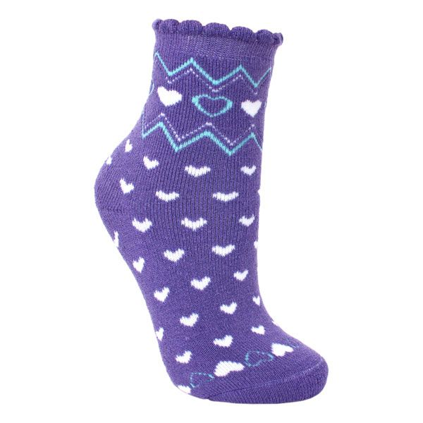 Twitcher Kids' Printed Socks in Light Purple